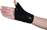 Бандаж на большой палец руки Armor ARH15 черный правый размер S