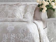 Комплект постельного белья  200*220 TM PAVIA Carlotte beige