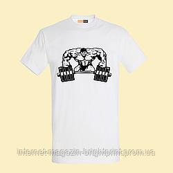 """Чоловіча футболка з принтом """"Super Gym"""""""