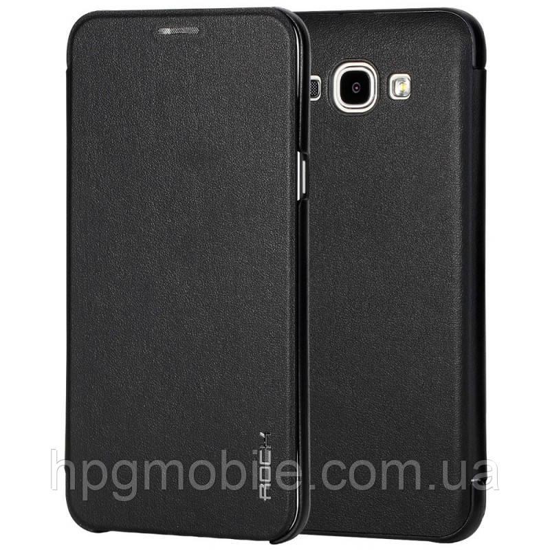 Чехол для Samsung Galaxy A8 A800 (2015) - Rock Touch Series Черный