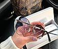 Жіночі брендові сонцезахисні окуляри (7315) blue, фото 2