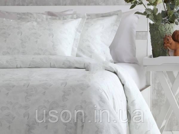 Комплект постельного белья  200*220 TM PAVIA Claris молочно-серый