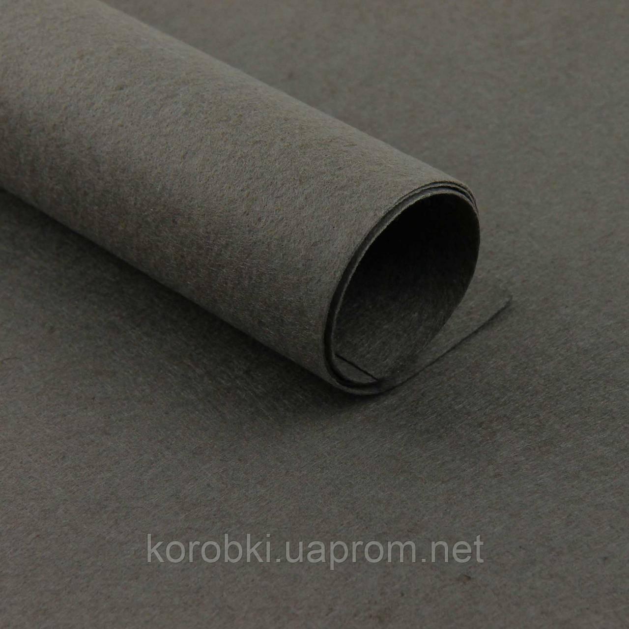 Фетр однотонный, цвет D18, 1824243-1 (70*50 см, толщина 1 мм, 10 листов в упаковке)