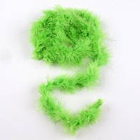 Боа з лебединого пуху зелене, довжина 1,8м (50501.005)