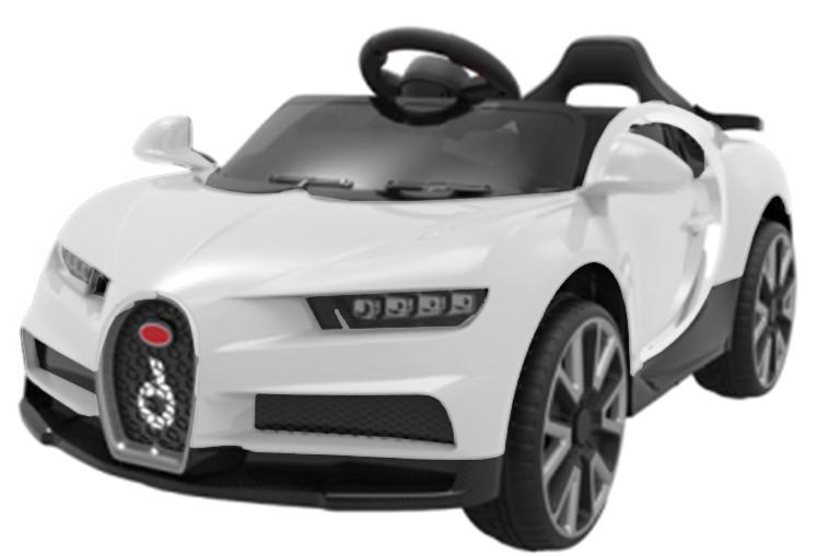 Детский электромобиль T-7638 EVA WHITE легковая на Bluetooth 2.4G Гарантия качества Быстрая доставка