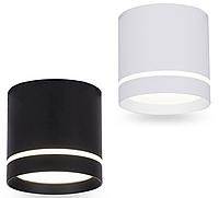 Светодиодный светильник белый, черный AL543 10W 4000К Feron