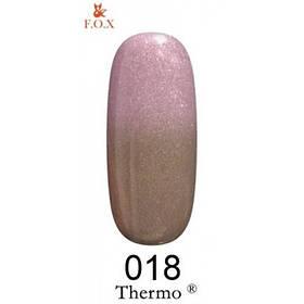 Гель лак Thermo  F.O.X  018 6мл