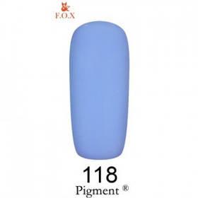 Гель лак Pigment F.O.X 118 6мл