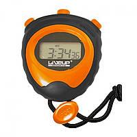Секундомер LiveUp STOP WATCH, силикон, пластмасса, р-р 56x65x18мм, оранжевый (LS3193)