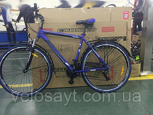 Горный велосипед Crosser Gamma  28 размер рамы 21 фиолетовый, фото 2