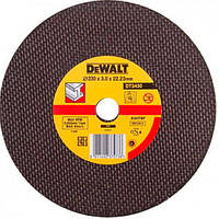 Круг отрезной DeWALT 230х3.0х22.23 мм по металлу (DT3430-QZ)