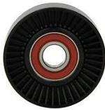 Ролик навесного оборудования 2.5TD большой гладкий пластиковый диаметр 85мм ширина 29мм гладкий CAFFARO 501436