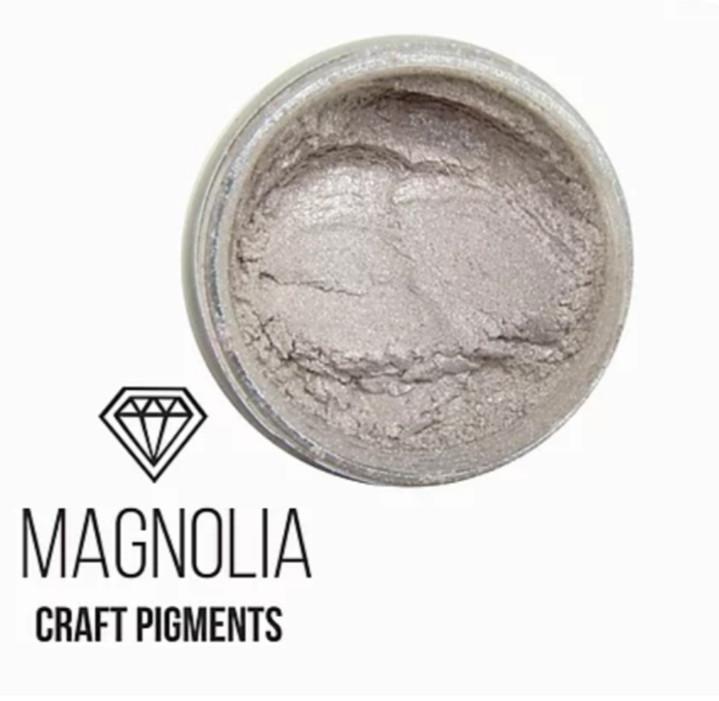 """Пигмент перламутр """"Магнолия"""" Magnolia, для смолы, Крафтсмен. Уп. 10 мл"""