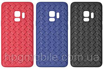 Чехол для Samsung Galaxy S9 G960 (2018) - Baseus, плетёный, пластик