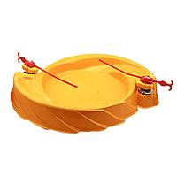 Арена пластиковая для Бейблейд волчков Beyblade 60 см Желтая