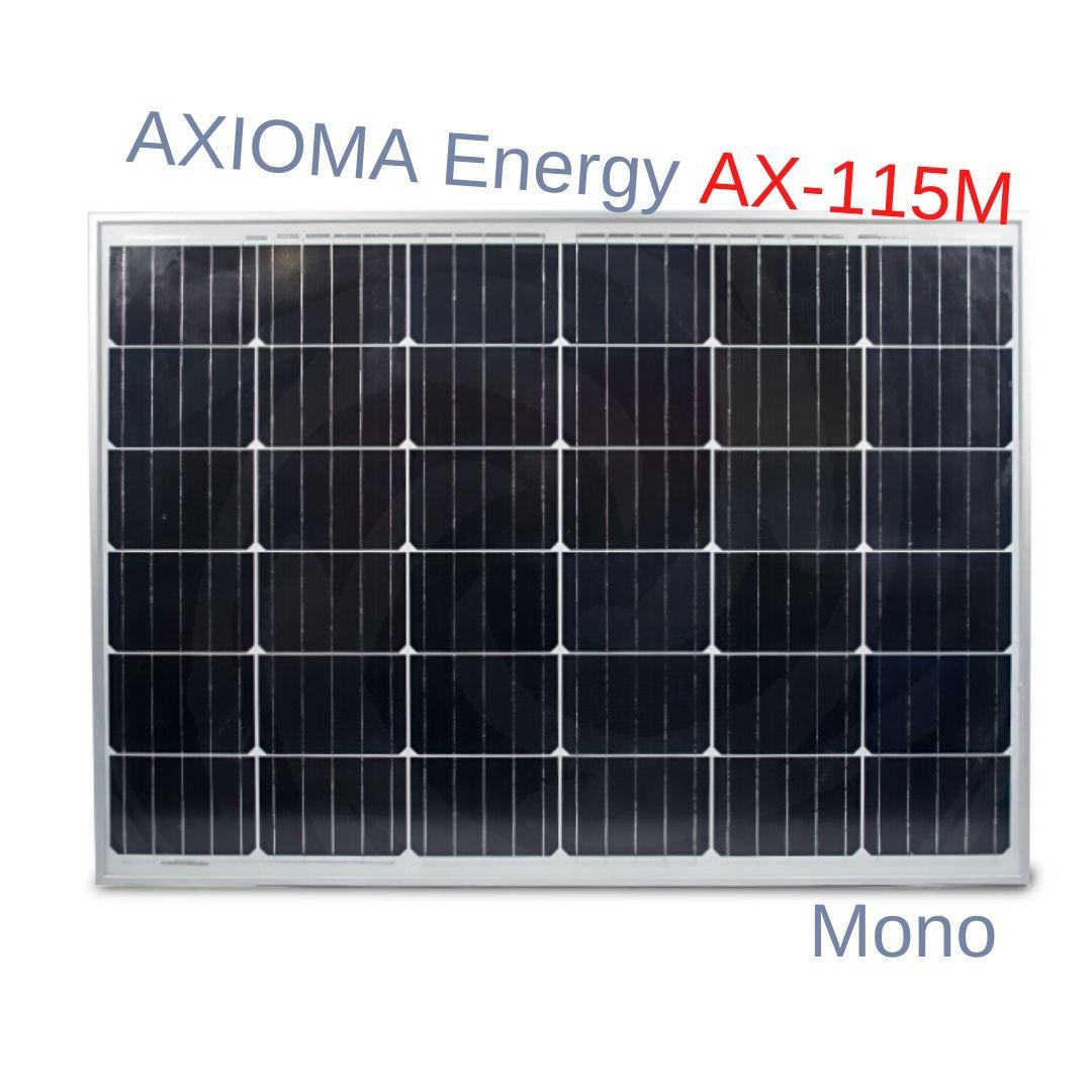 AXIOMA Energy AX-115M солнечная батарея панель 115 Вт Монокристаллическая