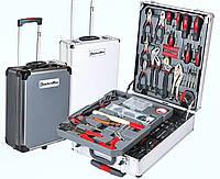 Большой набор инструментов в чемодане KomfortMax 187 предметов
