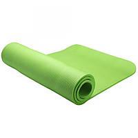 Коврик для тренировок LiveUp NBR MAT, каучук, р-р 180x60x1,2см, зеленый (LS3257-g)