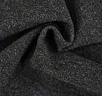 Ткань - Кашемир меланж на трикотажной основе 1703 7 Черный
