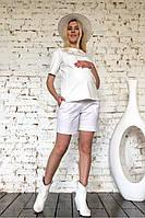 Белые шорты для беременных
