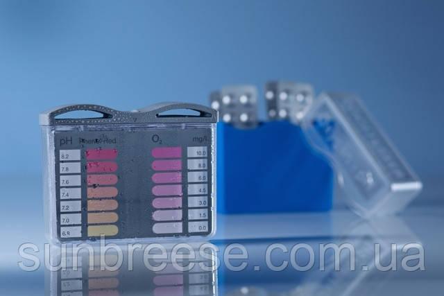 Тестер рН/кислород в синей коробке
