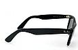 Женские солнцезащитные очки в стиле RAY BAN Wayfarer 2140-901 LUX, фото 2