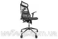 Кресло для врача Barsky BB-04 Black New, сеточное кресло, черный, фото 3