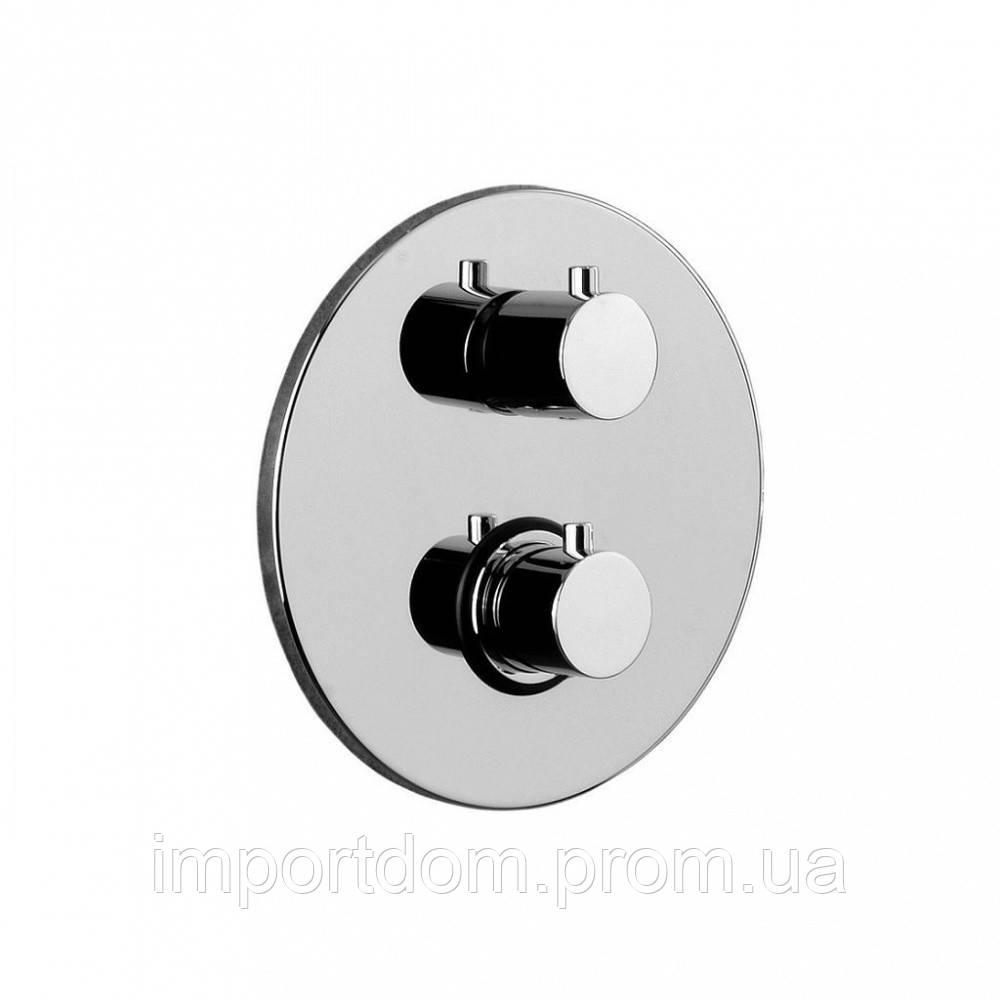 Термостатический смеситель для душа Paffoni с переключателем на 2 потребителя