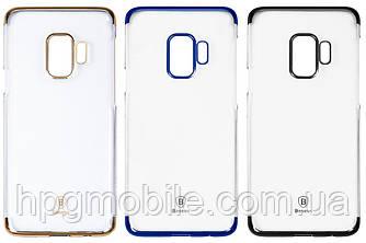 Чехол для Samsung Galaxy S9 G960 (2018) - Baseus, прозрачный, пластик
