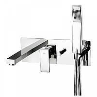 Смеситель для ванны со стены Paffoni (EL001CR)