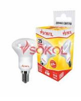 Лампа світлодіодна LED R39 AL 4W 220В Е14 4100K new SOKOL