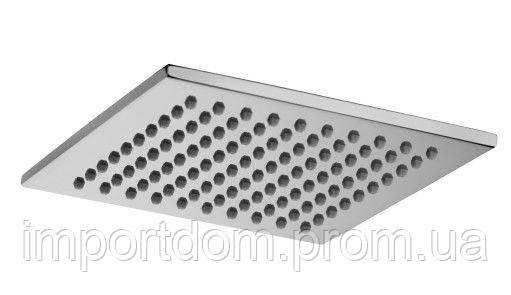 Верхний душ квадратный Paffoni, 200 x 200 mm