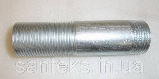 Оцинкований згін сталевий приварний ДУ 15*2,5