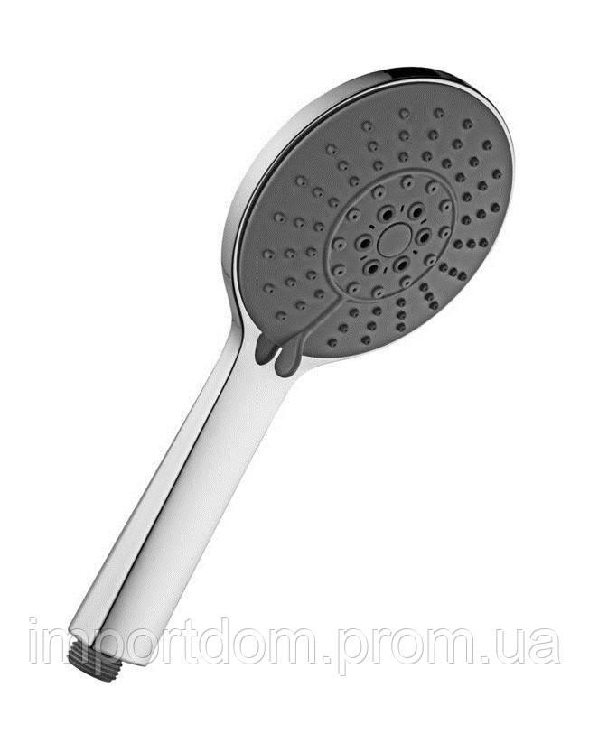 Ручний душ з ABS Paffoni, 4 режими + Stop, Ø105 mm