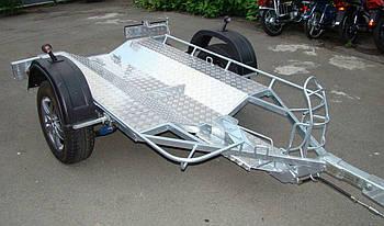 Прицеп для мотоцикла Premium 1000 кг Тормозной