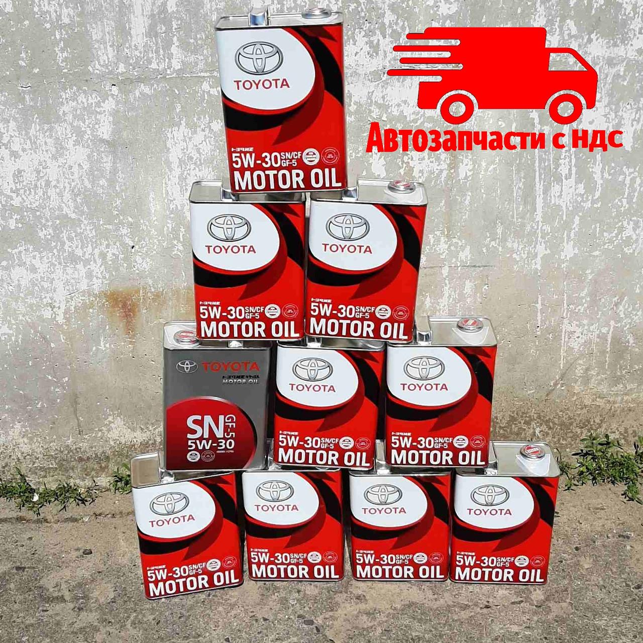 Моторное масло (оригинальное) OE OIL TOYOTA JP 5W30/4; Канистра 4 литра. Цена за 1 канистру; 08880-10705