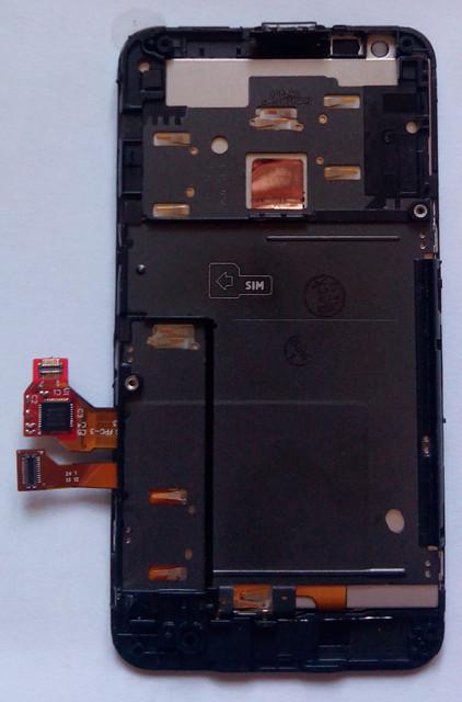 Nokia Lumia 620 дисплей LCD + тачскрін в зборі з рамкою