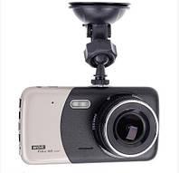 Видеорегистратор с двумя камерами UKC CSZ-Z14S WDR Full HD 1080P Black/Gold
