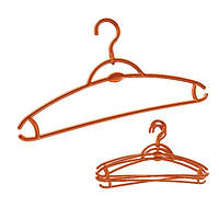 Набір вішалок для одягу York, 5 шт, пластик