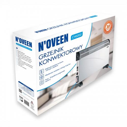 Конвекторний обігрівач Noveen CH6000, на 22 кв. м.