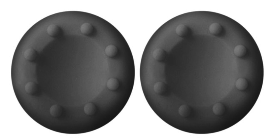 Накладки на стики GamerChoise (2 шт., Черные) для геймпада DualShock 4, PS4, PS3, Xbox 360