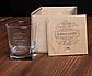 """Стакан для виски в деревянной коробке """"Кращий начальник в світі"""", фото 3"""