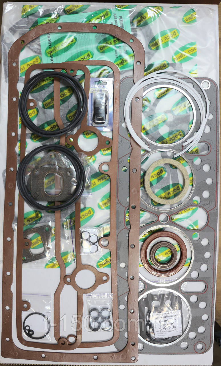 Набор прокладок двигателя  СМД 14-22 (полный с РТИ) Премиум