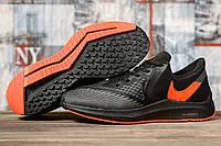 Кроссовки мужские 17071 ► Nike Zoom Winflo 6, черные. [Размеры в наличии: 41,42,43,44,45], фото 1