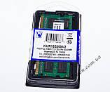 Kingston DDR3 SO DIMM 2 Gb 1333 MHz для ноутбука Інтел+АМД (KVR13S9S6/2), фото 4