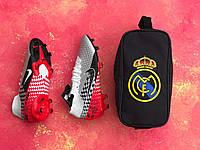 Cумка спортивная для обуви FC Real/черная