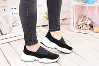 Женские кроссовки из натурального замша ENRI ROSSI