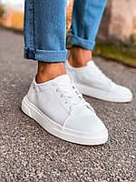Чоловічі кросівки шкіряні 6728, фото 1