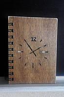 Деревянный блокнот Часы