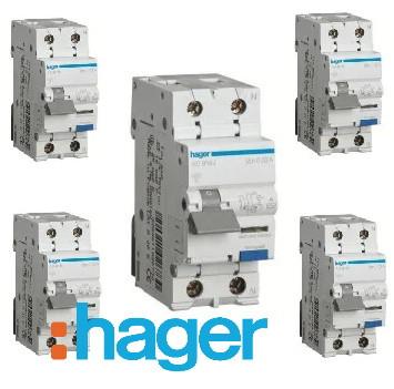 Hager Диференційні автоматичні вимикачі